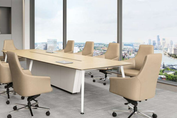 3 - Rhythm - α Guest Chair and Ingage Conference Table